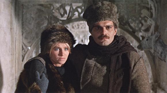 Shariff y Christie en Doctor Zhivago