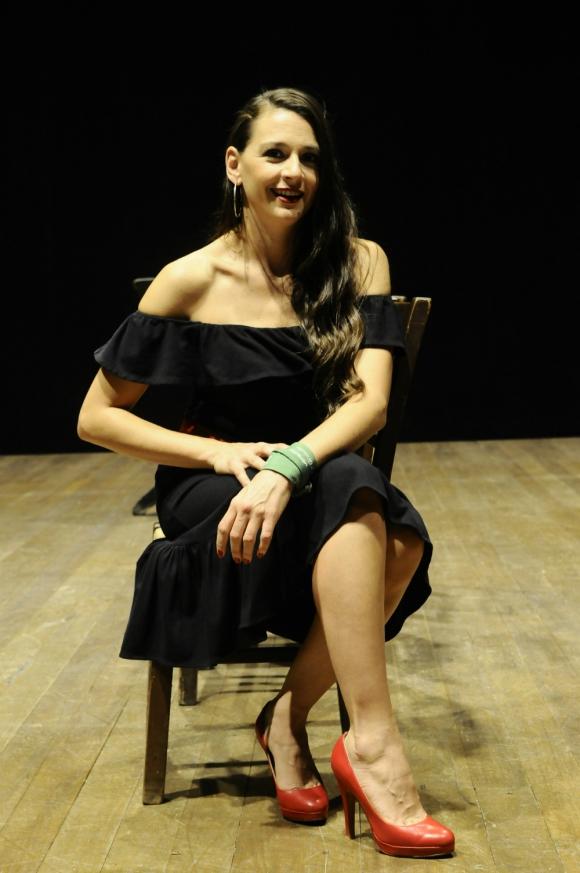 Laura Azcurra. Foto: Darwin Borrelli