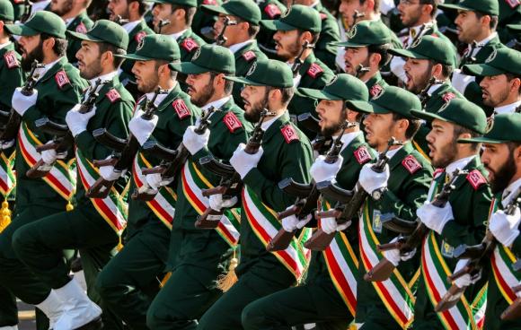 La fuerza fue creada en 1979 y hoy tiene 125.000 efectivos. Foto: AFP