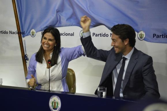 Verónica Alonso y Juan Sartori, Foto: Gerardo Pérez