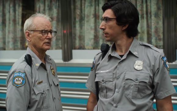Bill Murray y Adam Driver en The Dead Don't Die