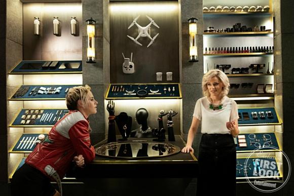 Kristen Stewart y Elizabeth Banks en Los Angeles de Charlie
