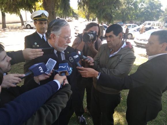 José Bayardi, ministro de Defensa. Foto: Víctor Darwin Rodríguez