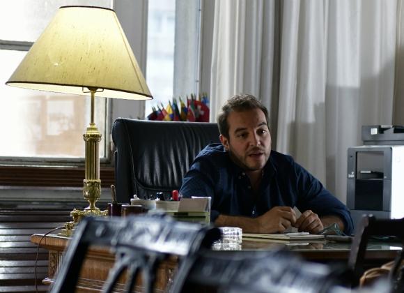 Christian Di Candia, intendente de Montevideo. Foto: Fernando Ponzetto