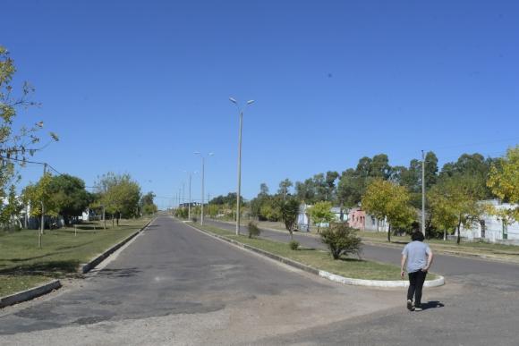 Pueblo Centenario tiene 1.500 habitantes. Casi todos son empleados públicos. Foto: L. Mainé