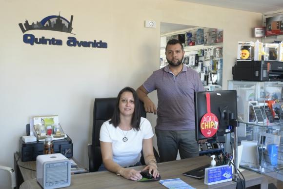 Leticia Olivera y Robert Menéndez, de Centenario. Foto: L. Mainé