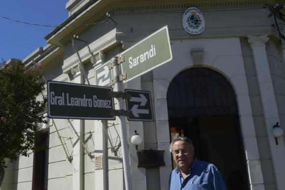 Alcalde Juan José López. Foto: Leonardo Mainé