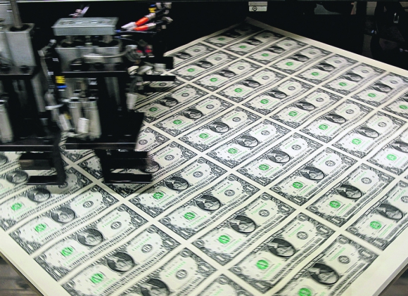 El dólar en Uruguay marcó ayer un nuevo máximo. Foto: Reuters