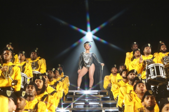 Beyoncé en Coachella. Foto: Getty Images.
