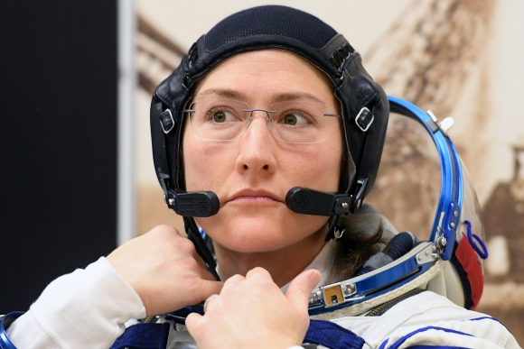 Astronauta Christina Koch. Foto: AFP