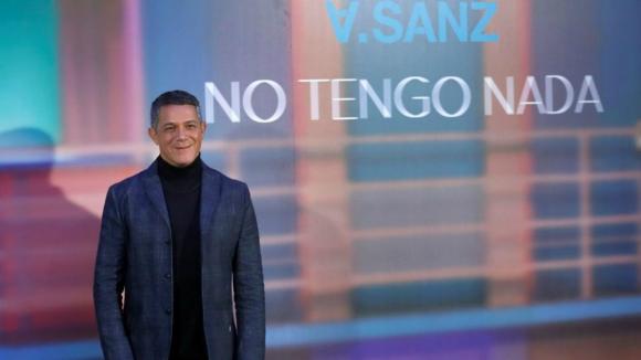 Alejandro Sanz. Foto: EFE.