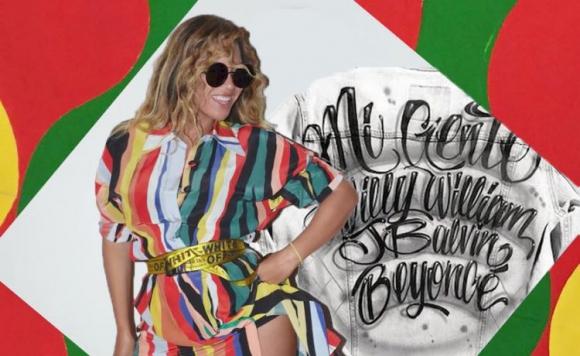 Beyoncé en el remix de Mi gente