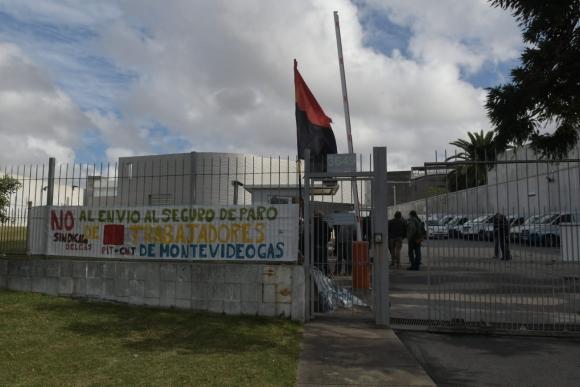 MontevideoGas ocupada. Foto: El País