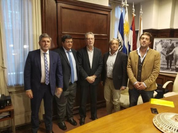 Alejandro Balbi, Jorge Barrera, Jorge Vázquez, Fernando Cáceres e Ignacio Alonso