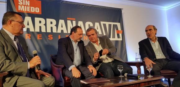 Jorge Larrañaga, precandidato por el Partido Nacional. Foto: Prensa Jorge Larrañaga