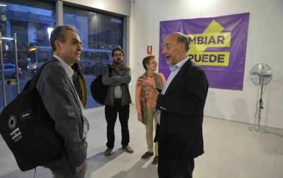 El Partido Independiente formalizó apoyo a Eduy21. Foto: Gerardo Pérez