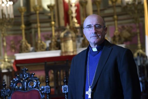 Daniel Sturla, arzobispo de Montevideo. Foto: Leonardo Mainé