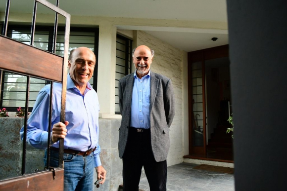 Daniel Martínez y Pablo Mieres. Foto: Gerardo Pérez