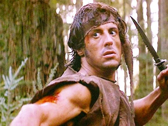 Imagen de la película Rambo