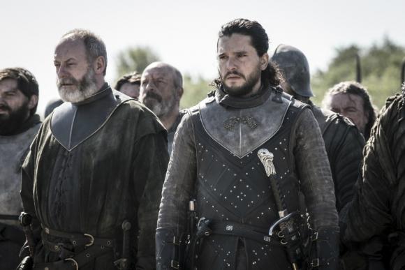 Jon Snow y Ser Davos ante una nueva batalla en Poniente. Foto: Difusión