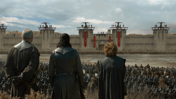 Imagenes del quinto episodio de la temporada final de Game of thrones