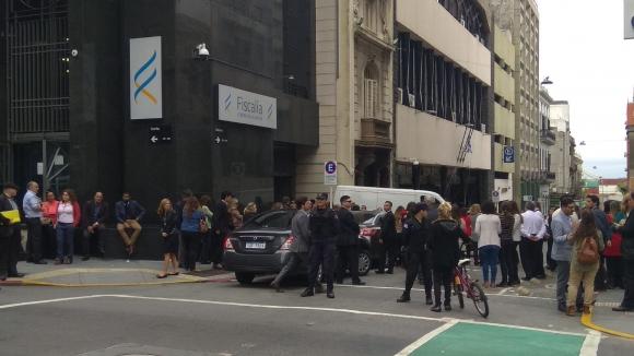 Fiscales abandonan sus oficinas tras muerte de una colega. Foto: Darwin Borrelli
