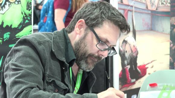 Yanick Paquette, uno de los caricaturistas que llega este año a Montevideo Comics. Foto: Difusión