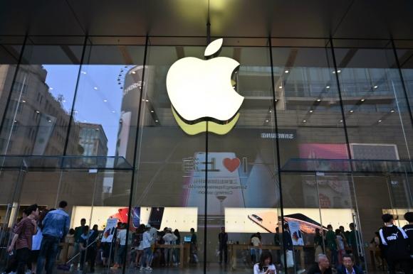 Apple cayó 6,9% en Wall Street.. Foto: AFP
