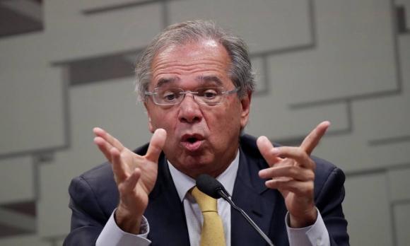 El ministro brasileño Paulo Guedes planteó baja unilateral. Foto: Archivo El País