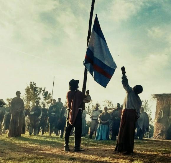 Banderas del ariguismo pasaron a identificar provincias y ciudades que se identificaron con el prócer. Foto: El País
