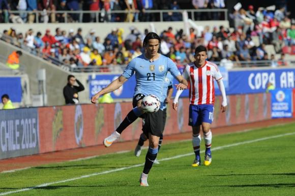 En Brasil, Edinson Cavani buscará su primer gol en una Copa América. Foto: archivo El País.
