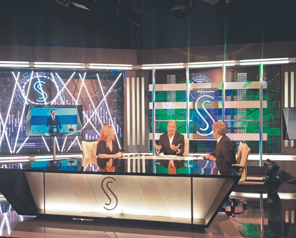 Santo y Seña estrenó su nueva temporada. Foto: Canal 4.