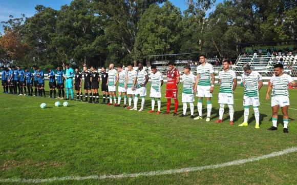 Plaza Colonia vs. Liverpool en el Parque Prandi. Foto: AUF.