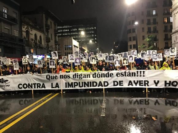 Edición número 24 de la Marcha del Silencio. Foto: Nicolás González Keusseian.