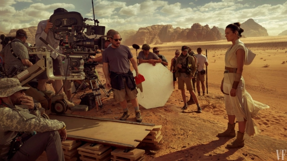 Daisy Ridley como Rei en Star Wars: el ascenso de Skywakler