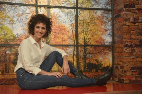 Leonor Svarcas, actriz y comunicadora