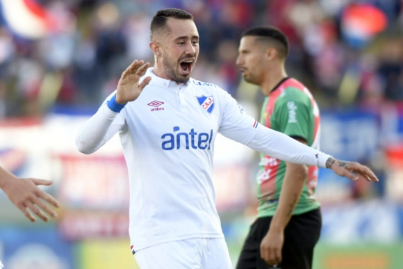 Rodrigo Amaral en Nacional