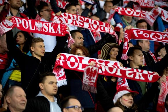 Hinchas de Polonia en el Mundial Sub 20. Foto: Efe.