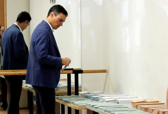 Pedro Sánchez. Foto: EFE.