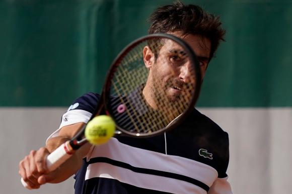 Pablo Cuevas en Roland Garros