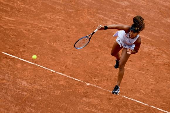 Naomi Osaka en Roland Garros