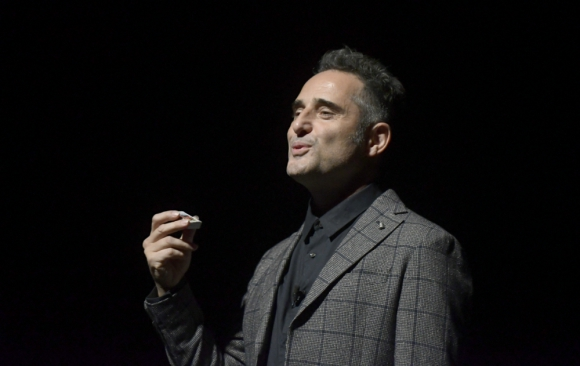 Jorge Drexler en el Auditorio del Sodre. Foto: Marcelo Bonjour