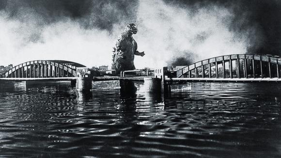 Imagen de la película Gojira, de 1954. Foto: Difusión