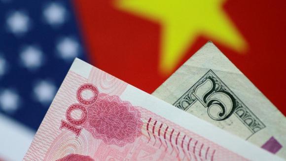 Guerra comercial EE.UU.-China (yuan versus dólar). Foto: Reuters.