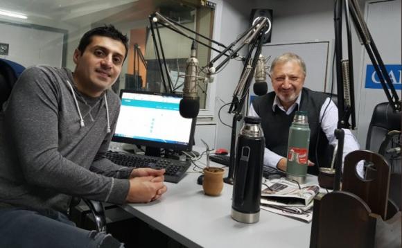 Miguel Chagas y Gerardo Sotelo
