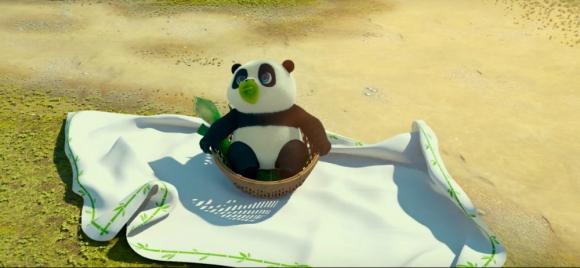 Imagen de la película Un panda en apuros