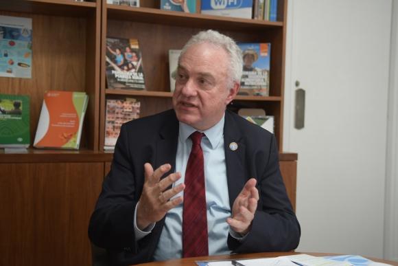 Mario Lubetkin Subdirector general y jefe de gabinete de FAO. Foto: El País