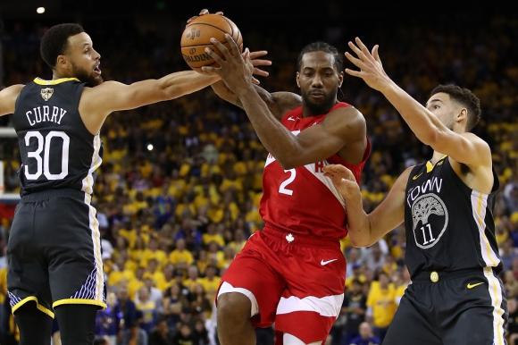 Golden State Warriors vs. Toronto Raptors