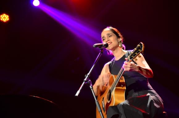 Julieta Venegas en el Teatro 28 de Febrero (Mercedes). Foto: Jorge Ríos.