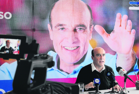 Daniel Martínez, precandidato por el Frente Amplio. Foto: Luis Pérez